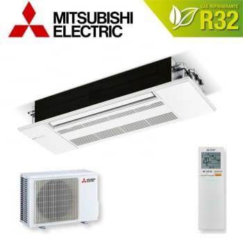 Set Aire Acondicionado Mitsubishi MLZ-KP50VF | Cassette | Wi-Fi compatible con Alexa | Clase A++
