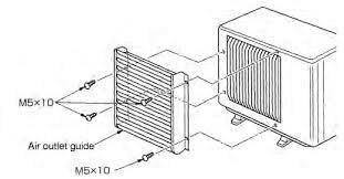 Deflector de aire Mitsubishi electric MAC-889SG - 3