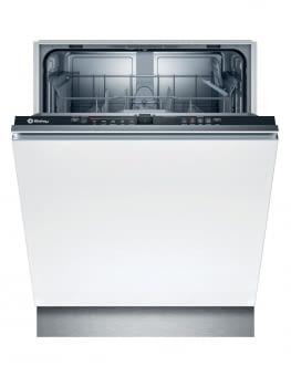 Lavavajillas BALAY 3VF5010NP | Totalmente integrable 60x81 | 12 servicios | Negro | Programa 1h |  50db | Cuba mixta polinox.