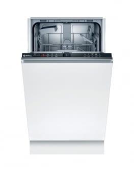 Lavavajillas BALAY 3VT4010NA | Totalmente integrable | 45 x 81,5 cm. | 9 servicios | Negro | pr. Limpieza cuba. f: media carga 10 litros | 50 db