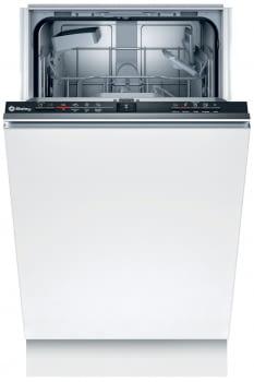 Lavavajillas BALAY 3VT4010NA | Totalmente integrable | 45 x 81,5 cm. | 9 servicios | pr. Limpieza cuba. f: media carga 10 litros | 50 db