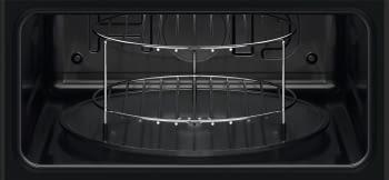 Horno Microondas Compacto Zanussi ZVEEW5X1 Inoxidable antihuellas de 1000 W con Grill de 1200 W - 5