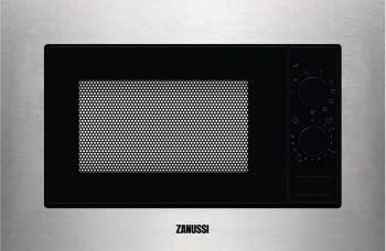 Microondas Zanussi ZMSN6DX de 20 Litros y 700 W (1000 W de Grill) a 6 niveles de potencia