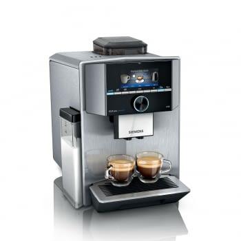 Cafetera superautomática Expresso Siemens TI9553X1RW | Acero inoxidable | tecnología iAroma