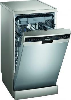 Lavavajillas de libre instalación SIEMENS iQ500 SR25ZI11ME | 45 cm | INOX | Clase A+++