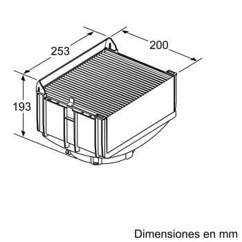 Accesorio Kit de recirculación Clean Air Plus SIEMENS LZ11DXI16 - 2
