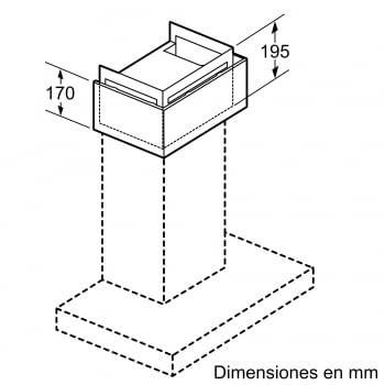 Accesorio Kit de recirculación Clean Air Plus SIEMENS LZ11FXC56 - 2