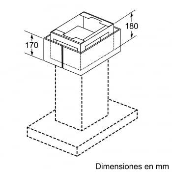 Accesorio Kit de recirculación Clean Air Plus SIEMENS LZ22CXC56 - 4