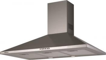 Campana de Pared Edesa ECP-9611 X Inoxidable de 90 cm con 3 niveles a 645 m³/h | Clase C