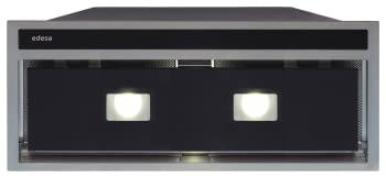 Grupo Filtrante Encastrable Edesa ECG-8831 GBK Negro de 90 cm con 3 niveles + turbo a 820 m³/h | Clase A