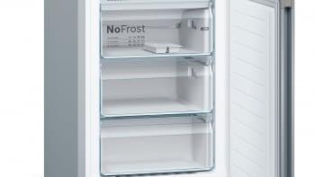 Frigorífico combi KVN39IHEA Bosch | Libre instalación con puertas personalizables | 203 x 60 cm | Verde lima - 6