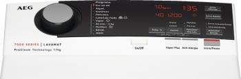 Lavadora de Carga Superior AEG L7TBE721 | Serie 7000 ProSteam | 7 Kg 1200 rpm | ProSense | Inverter | A+++ -20% - 4