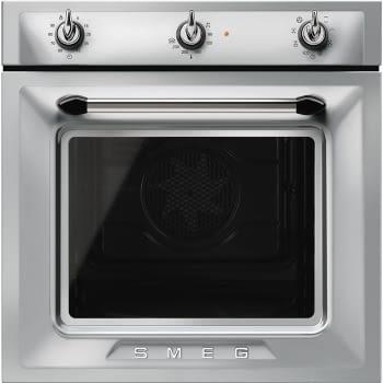 Horno Victoria Smeg SF6905X1 Inoxidable, Termoventilado, con 8 funciones de cocción y limpieza Vapor Clean | Clase A - 1