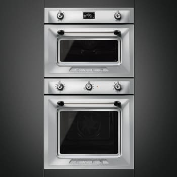 Horno Victoria Smeg SF6905X1 Inoxidable, Termoventilado, con 8 funciones de cocción y limpieza Vapor Clean | Clase A - 2