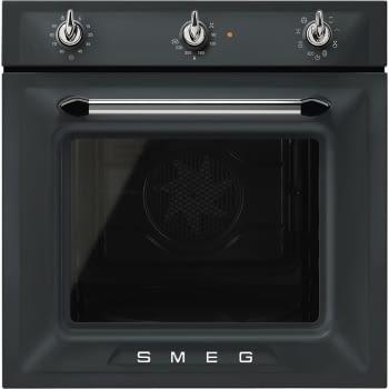 Horno Victoria Smeg SF6905NO1 Negro Mate, Termoventilado, con 8 funciones de cocción y limpieza Vapor Clean   Clase A - 1