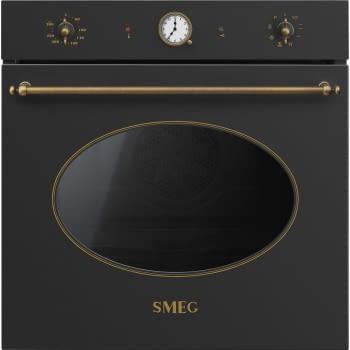 Horno Colonial Smeg SFP805AO en Antracita, con 7 funciones de cocción y limpieza Pirolítica | Clase A - 1
