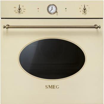 Horno Colonial Smeg SFP805PO Crema, con 7 funciones de cocción y limpieza Pirolítica | Clase A