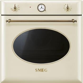 Horno Colonial Smeg SF855PO Crema, con 9 funciones de cocción y limpieza Vapor Clean | Clase A