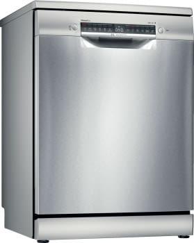 Lavavajillas Bosch SMS4EMI00E Inoxidable de 60 cm, para 14 servicios, 3a Bandeja para cubiertos | Clase C | Serie 4