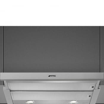 Campana Telescópica SMEG KSET900XE | Acero Inox | 600 m³/h | 3 velocidades - 2