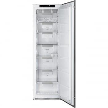Congelador Vertical Monopuerta SMEG S8F174NF | Integrable | NoFrost | Blanco | Clase F