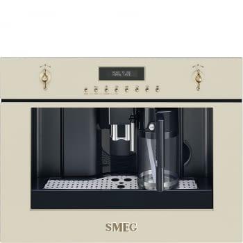 Cafetera Colonial Smeg CMS8451P Compacta de 45 cm en color Crema - 1