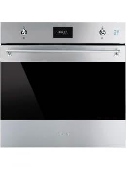 Horno Multifunción SMEG SO6301S2X | 60cm | Vapor Clean | Puerta Abatible | A+