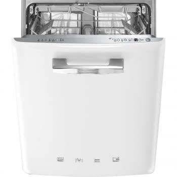 Lavavajillas Smeg bajo encimera ST2FABWH2 Blanco | 60 cm | Motor Inverter | 5+5 programas rápidos | Programa silent | 13 cubiertos | Clase A+++