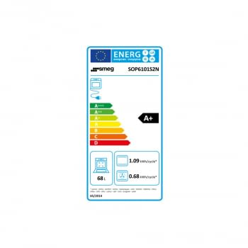 Horno Multifunción SMEG SOP6101S2N | Puerta abatible | Negro | Vol. Útil: 68L | Pirolítico | A+ - 2
