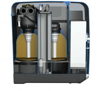 Descalcificador Kinetico Premier Compact | Tapas Magnéticas | Doble Botella y Reversible | Catódica | Hidráulico, Sin electricidad | Stock - 2