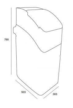 Descalcificador hidráulico Kinetico Essential 17   17 litros - 2