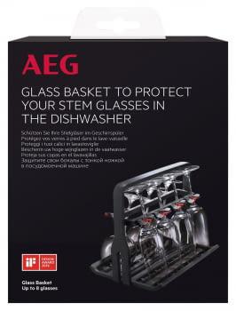 Cesto para copas AEG A9SZGB01 | Comodidad y Seguridad | Mayor capacidad y flexibilidad - 3