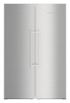 Conjunto Side by Side Premium SBSes 8773-21Liebheer con Frigorífico SKBes 4370 + Congelador SGNes 4375 BioFresh | No Frost + BioFresh | Clase D
