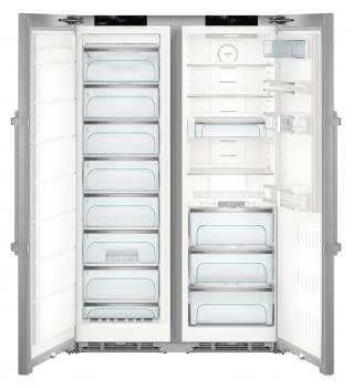 Conjunto Side by Side Premium SBSes 8773-21Liebheer con Frigorífico SKBes 4370 + Congelador SGNes 4375 BioFresh | No Frost + BioFresh | Clase D - 5