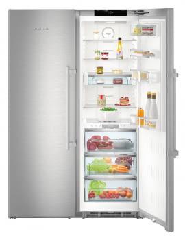 Conjunto Side by Side Premium SBSes 8773-21Liebheer con Frigorífico SKBes 4370 + Congelador SGNes 4375 BioFresh | No Frost + BioFresh | Clase D - 9