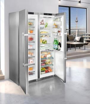 Conjunto Side by Side Premium SBSes 8773-21Liebheer con Frigorífico SKBes 4370 + Congelador SGNes 4375 BioFresh | No Frost + BioFresh | Clase D - 11