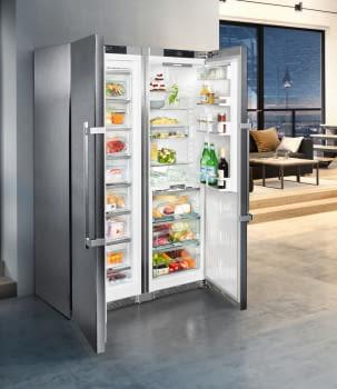 Conjunto Side by Side Premium SBSes 8773-21Liebheer con Frigorífico SKBes 4370 + Congelador SGNes 4375 BioFresh | No Frost + BioFresh | Clase D - 13