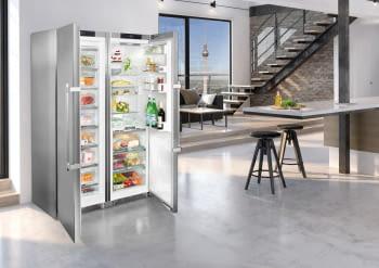 Conjunto Side by Side Premium SBSes 8773-21Liebheer con Frigorífico SKBes 4370 + Congelador SGNes 4375 BioFresh | No Frost + BioFresh | Clase D - 14