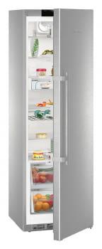 Frigorífico 1 puerta Inox Liehberr SKes 4370 | SoftSystem + SmartSteel | 185x60 cm | Clase C - 4
