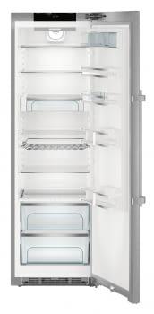 Frigorífico 1 puerta Inox Liehberr SKes 4370 | SoftSystem + SmartSteel | 185x60 cm | Clase C - 5