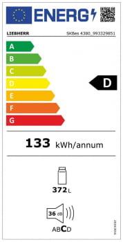 Frigorífico 1 puerta con BioFresh SKBes 4380 Liebherr | Iluminación LED | Clase D - 8