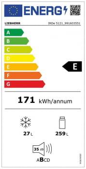 Frigorífico 1 Puerta integrable con congelador Plus Liebherr IRDe 5121 | Easy Fresh | Clase E - 3