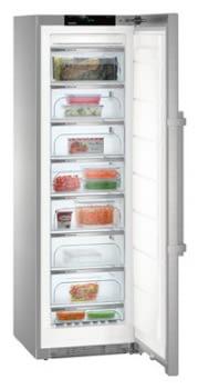 Congelador Vertical Liebherr SGNes-4375-21 Inox | No Frost | BluPerformance | 8 cajones  | 185,2X60X66,5cm | Clase D