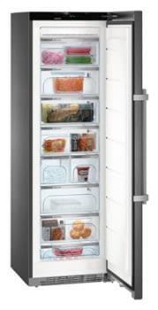 Congelador Vertical Liebherr SGNbs-4385 Black Steel | No Frost | 8 cajones + Fabr.hielo | 185,2X60X66,5cm | Clase D