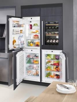Congelador empotrable Integrable Liebherr IN IGN-1664-21 003 O | 87,4/89X56/57X55cm | 4 cajones No Frost | Clase E - 5