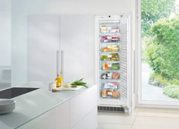 Congelador empotrable Integrable Liebherr  IN SIGN-3524 21   177,2/178,8X56/57X55cm   8 cajones NoFrost Clase F - 4