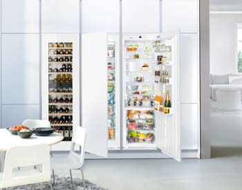 Congelador empotrable Integrable Liebherr IN SIGN-3576-21 | 177,2/178,8X56/57X55cm | 8 cajones NoFrost + Fabr.hielo | Clase F - 3
