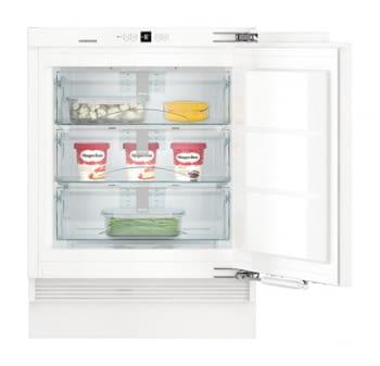 Congelador empotrable integrable Liebherr IN SUIGN-1554 21 bajo encimera   82/88 X 60 X 55 cm   3 cajones No Frost   Clase E - 1