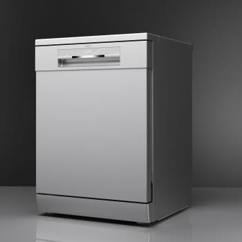 Lavavajillas Teka DFS 76810 (ref. 114260014) Inox 60cm | 14 cubiertos | Bandeja + Cestillo Cubertería | Clase D | Stock