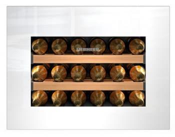 Vinoteca Liebherr WKEgw-582 empotrable | (1 temperatura) | Frío ventilado / 1 zona temp. |45X56X55cms. |46 L | Puerta Cristal blanco | Clase G